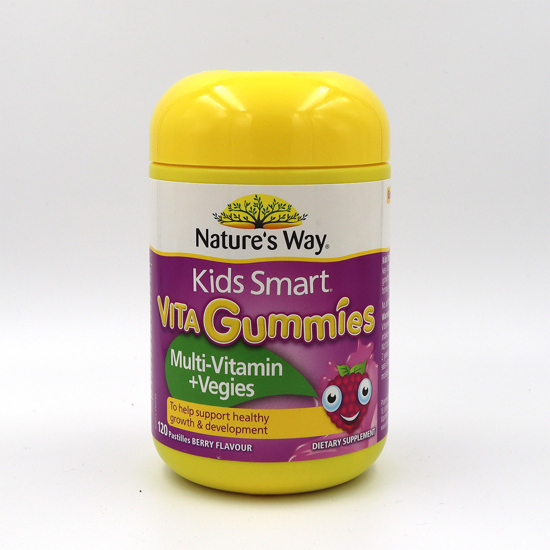 Nature's Way Kids Smart Vita Gummies Multi Vitamin & Vegies Gummies