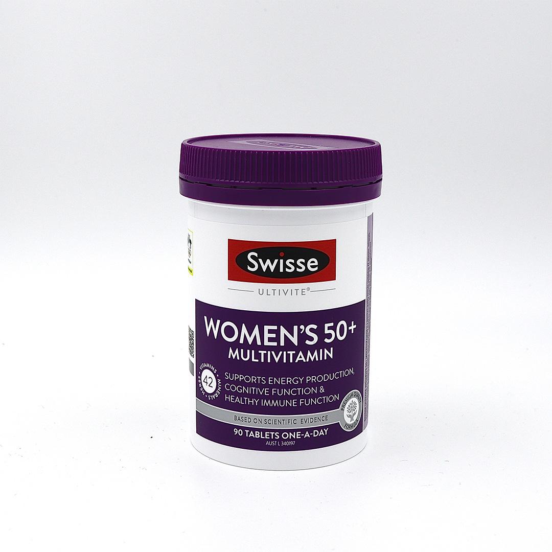 Swisse Women's Ultivite 50+ Multivitamin 90 Tablets